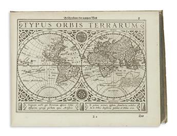 MERCATOR, GERARD and HONDIUS, JODOCUS. Atlas Minor, Das ist: Eine kurtze jedoch gründliche Beschreibung der gantzen Welt
