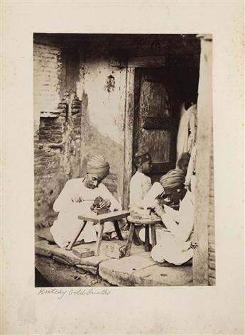 (INDIA)-Album-containing-105-exotic-photographs-including-ma