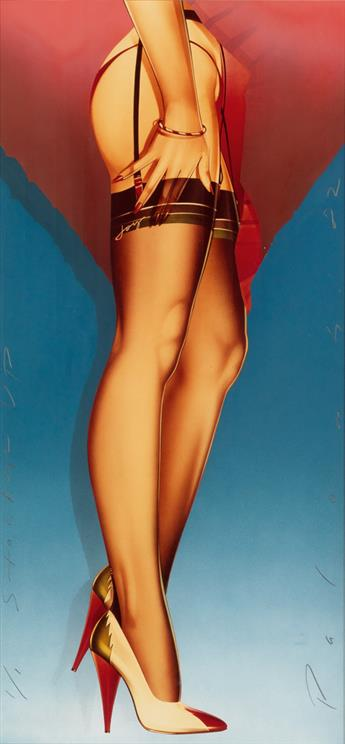 PETER PALOMBI. Stockings Up for Christmas.