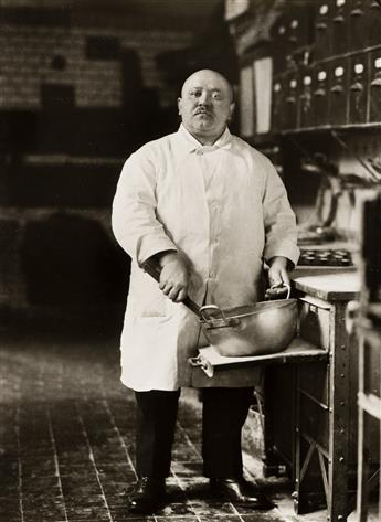 AUGUST SANDER (1876-1964)/GUNTHER SANDER (1907-1987) Konditormeister [Pastry Chef], Köln Lindenthal.