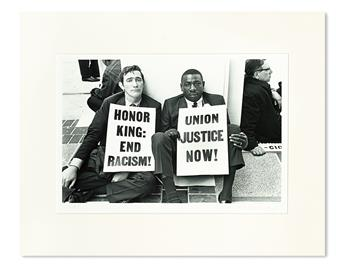 (CIVIL RIGHTS--KING, MARTIN LUTHER JR.) FERNANDEZ, BENEDICT. Countdown to Eternity: Photographs of Dr. Martin Luther King, Jr. in the 1