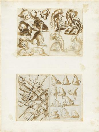 ITALIAN-SCHOOL-17TH-CENTURY-Collection-of-15-drawings-from-t