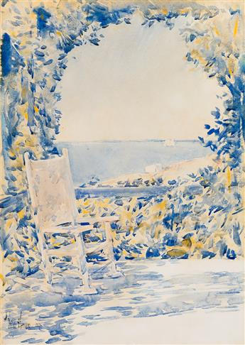 CHILDE HASSAM A Shady Spot (Appledore, Isle of Shoals).