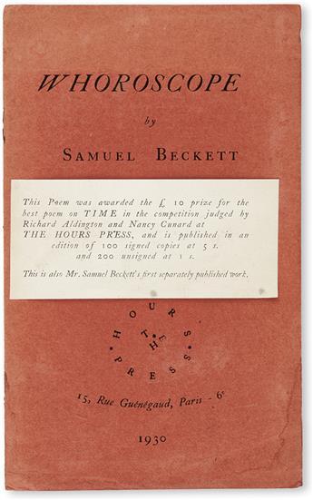 BECKETT-SAMUEL-Whoroscope