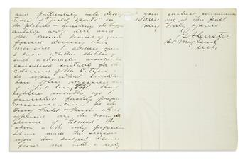 CUSTER, GEORGE ARMSTRONG. Autograph Letter Signed, G.A. Custer / Bt Maj Genl / U.S.A., to New York Citizen Editor Robert Barnhill Roo