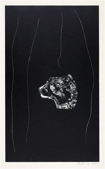 ROBERT MOTHERWELL Soot-Black Stones Series.