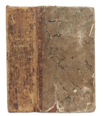 (MORMONS.) The Book of Mormon.
