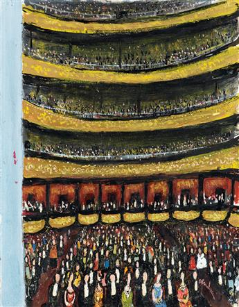 (THE NEW YORKER.) ABE BIRNBAUM. Metropolitan Opera Audience.