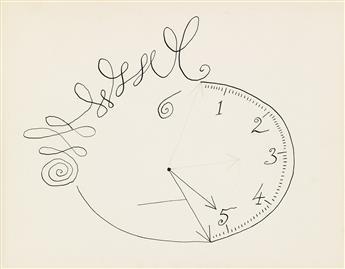 SAUL STEINBERG. Time Morph Triptych.
