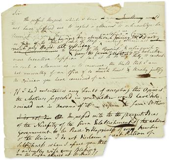 (AMERICAN REVOLUTION.) Papers of Judge John Lowell, delegate to the Continental Congress and patriarch of the Lowell family.