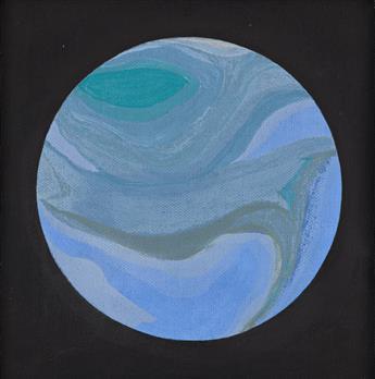 HELEN LUNDEBERG (1908 - 1999, AMERICAN) Planet.