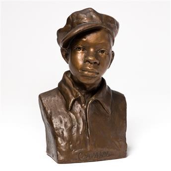 AUGUSTA SAVAGE (1892 - 1962) Gamin.