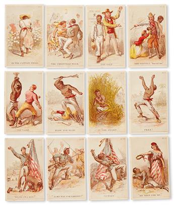 (SLAVERY AND ABOLITION.) STEPHENS, HENRY LOUIS. Stephens Album Varieties, No 3.