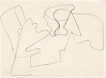 ARSHILE GORKY (1904 - 1948, AMERICAN) Untitled.