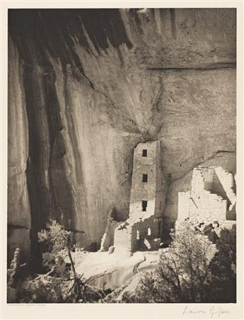 LAURA GILPIN (1891-1979) Square Tower House, Mesa Verde National Park.