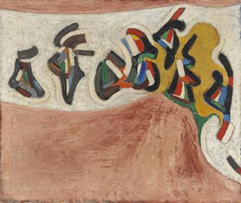 "HAYWOOD ""BILL"" RIVERS (1922 - 2001) The Dance."