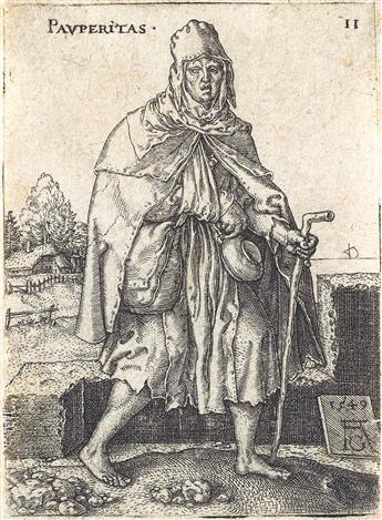 HEINRICH ALDEGREVER Three engravings.