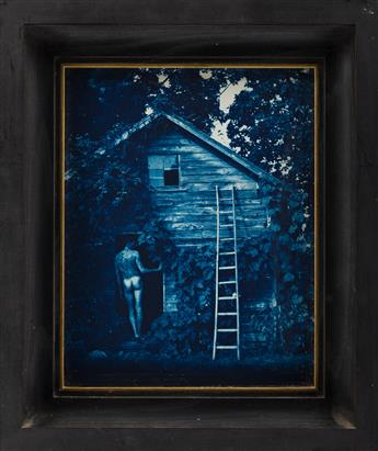 JOHN PATRICK DUGDALE (1960 - ) Jocobs Ladder * Cresent Moon.