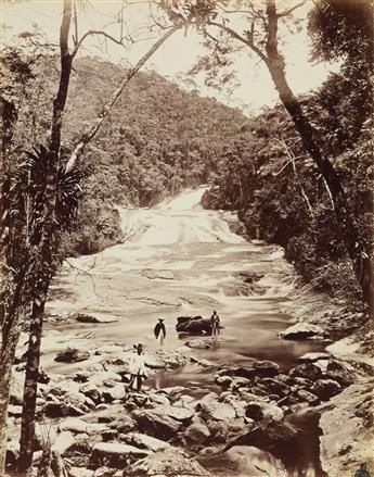 (BRAZIL) H. Kummler (1863-1949); G. Leuzinger (1813-1892) Folio entitled Ansichten von Rio de Janeiro & Umgebung, with 36 photographs.