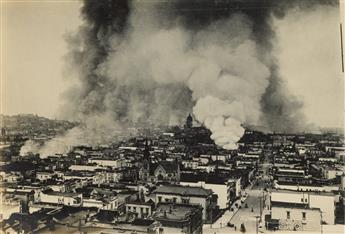 (SAN FRANCISCO EARTHQUAKE) Album with approximately 265 photographs depicting the aftermath of the vastly consequential San Francisco e