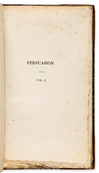 AUSTEN, JANE. Northanger Abbey: and Persuasion.
