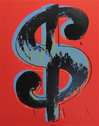 ANDY WARHOL (after) Dollar Signs Portfolio