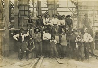 (REMINGTON-CO-PAPER-MILL)-Album-with-44-photographs-chronicl