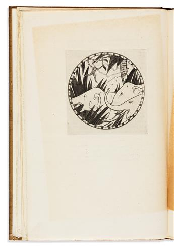 (GOLDEN COCKEREL PRESS.) Mathers, E. Powys and Gill, Eric. A Circle of the Seasons * The Lords Song.
