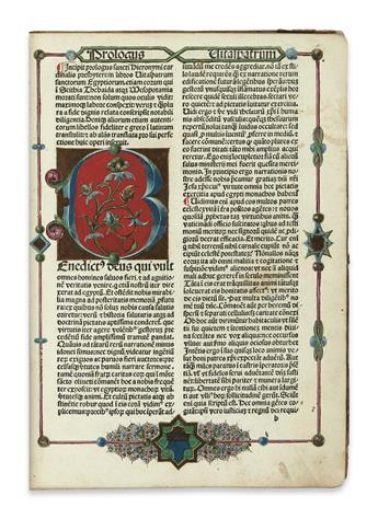 INCUNABULA--HIERONYMUS-Saint--Vitae-sanctorum-patrum-sive-Vitas-patrum--148384