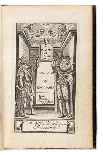 Bible, Psalms in English. trans. William Alexander (1567-1640) The Psalmes of King David translated by King James.