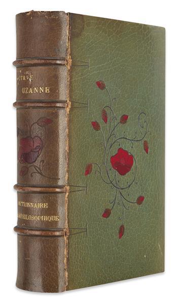 UZANNE-OCTAVE-Dictionnaire-Bibliophilosophique
