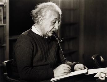 ROMAN VISHNIAC (1897-1990) A portfolio entitled Einstein at Work.