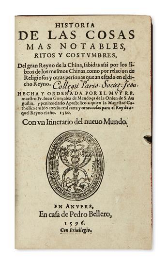TRAVEL--GONZÁLEZ-DE-MENDOZA-JUAN-Historia-de-las-Cosas-mas-n