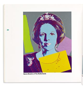 WARHOL, ANDY. Reigning Queens.