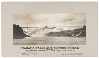 WILLIAM-H-RAU-(1855-1920)-Niagara-Falls-and-Clifton-Bridge