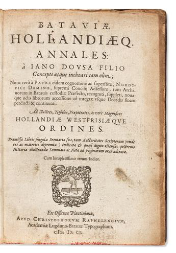 Early Books, Dutch Imprints, Five Titles in Four Volumes.