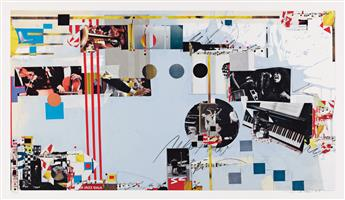 SAM MIDDLETON Three color lithographs.