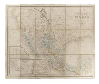 ROSA. Mapa de los Estados Unidos Mejicanos.
