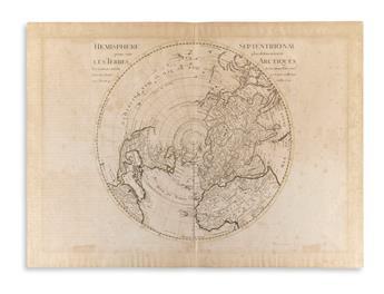 DE LISLE, GUILLAUME. Hemisphere Septentrional Pour