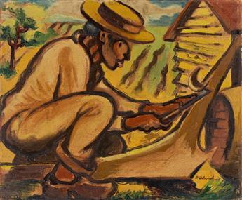 CLAUDE CLARK (1915 - 2001) The Plow.