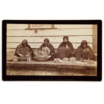 (AMERICAN-INDIANS--PHOTOGRAPHS)-Edward-de-Groff-Group-of-3-p