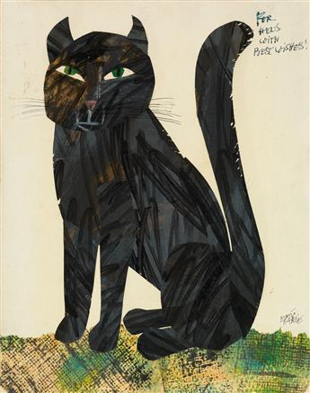 ERIC CARLE. Black Cat. [CHILDREN'S]