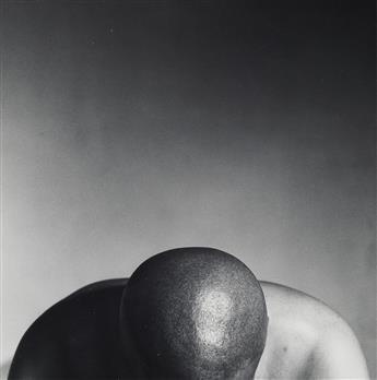 ROBERT MAPPLETHORPE (1946-1989)  Cedric, N.Y.C. * Jim, Sausalito * John, N.Y.C. * Self-Portrait with Whip, from the X Portfolio.