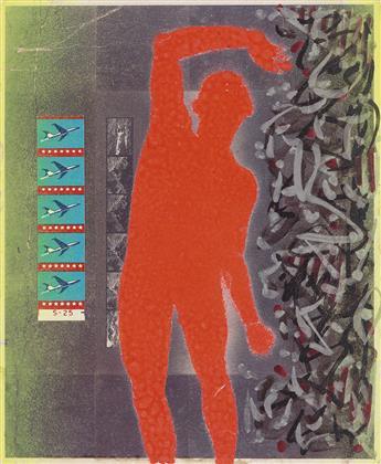 DAVID WOJNAROWICZ (1954-1992)  Neon Dancer.