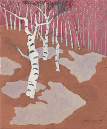 MARCH AVERY (B. 1932, AMERICAN) Spring Birches.