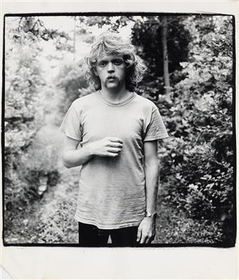 PETER HUJAR (1934-1987)  Portrait of Jim Fouratt, Fire Island.