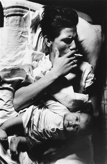 LARRY-CLARK-(1943--)-Billy-with-Baby