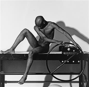 ROBERT MAPPLETHORPE (1946-1989) Bruce.