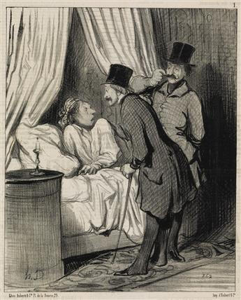HONORÉ-DAUMIER-Collection-of-approximately-200-lithographs