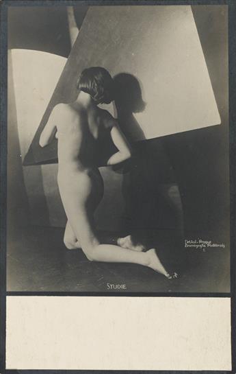 FRANTIŠEK DRTIKOL (1883-1961) Studie * Salome.